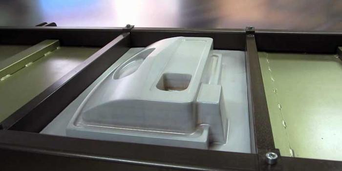 Производство методом вакуумной формовки