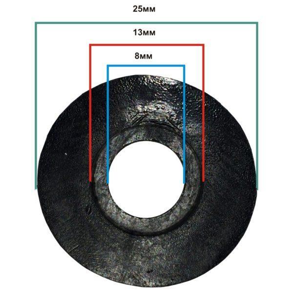 Втулка переходная-2 (для труб 25мм/51мм)